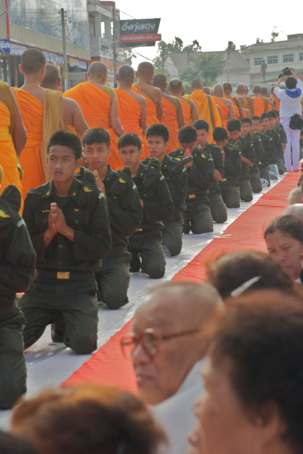 Northeast Thailand Monk Day