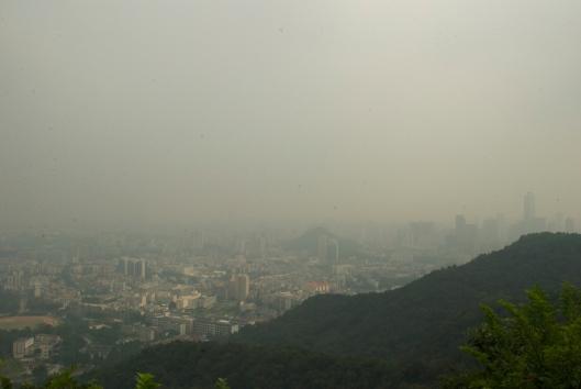 Pollution Guangzhou China