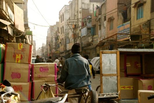 Delhi India streets