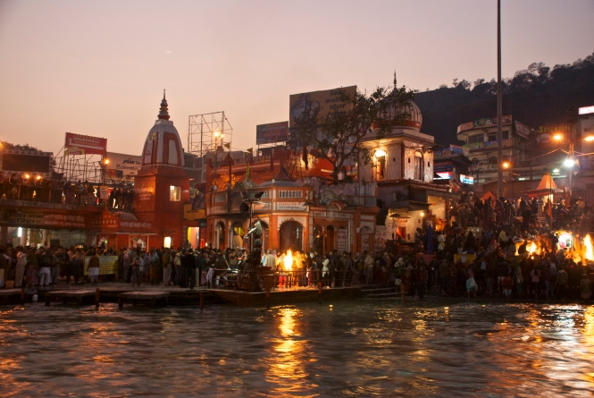 Aarti Haridwar India