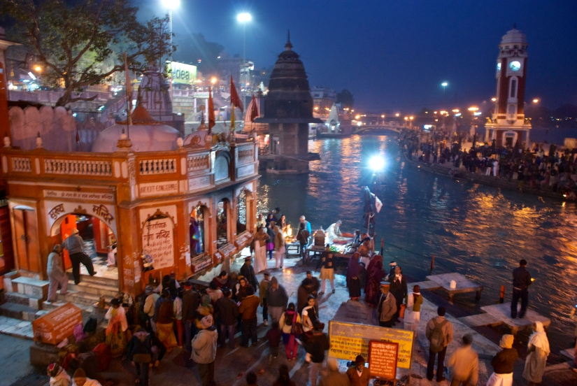 Aarti Haridwar India
