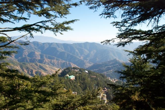 Shimla Himalayan Mountains