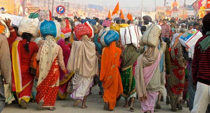 Kumbh Mela Allahabad India 2013