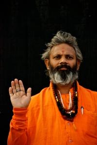 India sadhu varanasi