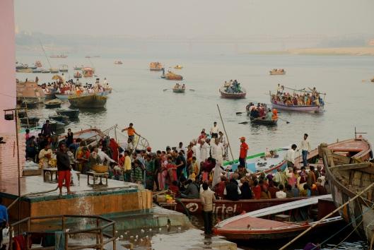 Boat tour Varanasi India