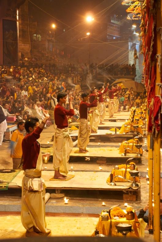 Ganga aarti Varanasi, India
