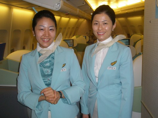 Korean Flight Attendants